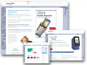 Abaxis Website Design