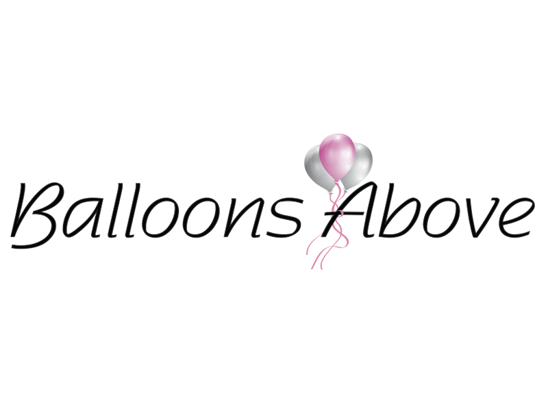 Balloons Above Logo Design