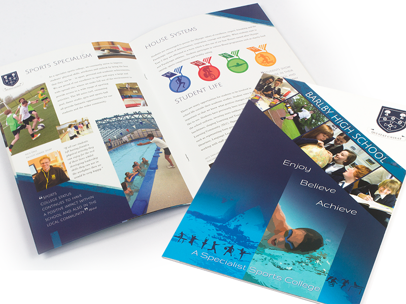 Barlby High School Prospectus Design