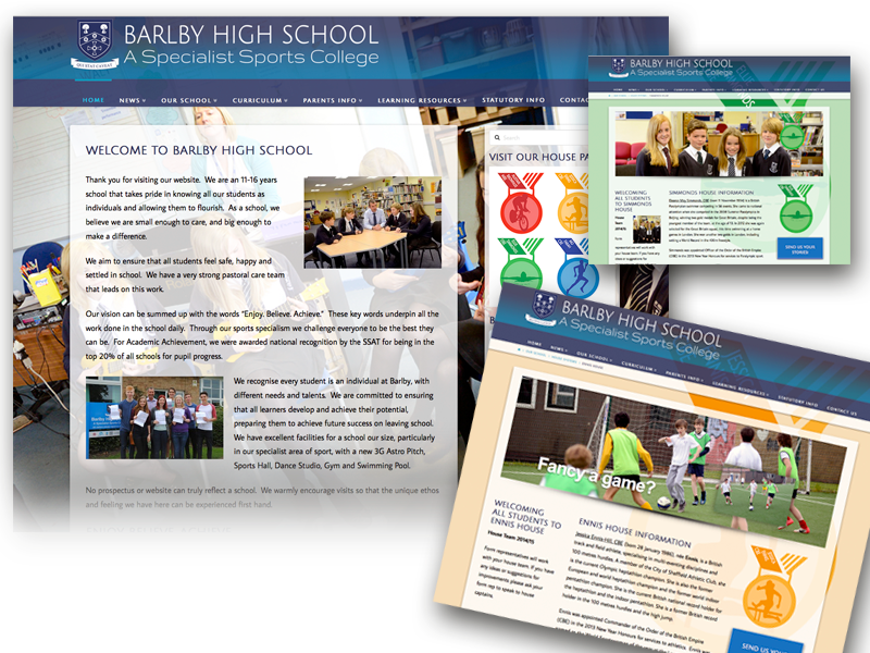 Barlby High School website
