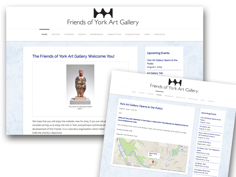 Friends of York Art Gallery website