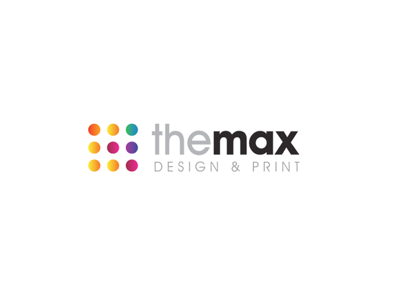 The Max Design & Print Logo Design