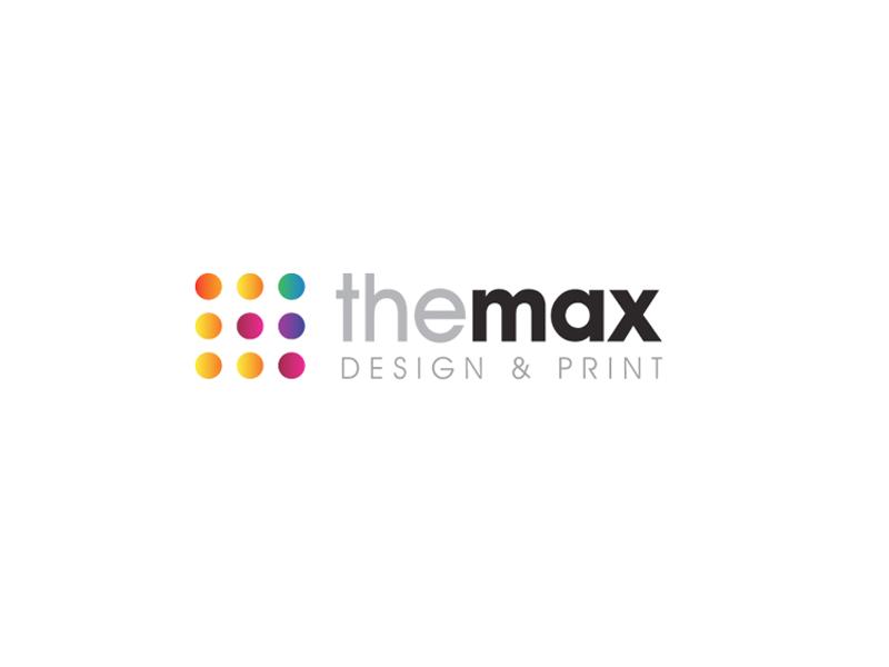 The Max Design & Print Logo Design