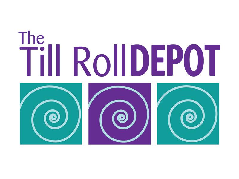 Till Roll Depot Logo Design